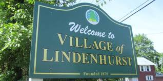The Homecoming Parade marches through the heart of Lindenhurst Village.