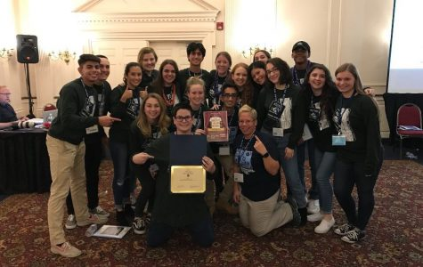 Lindenhurst Student Council Gets Their Passports to Leadership