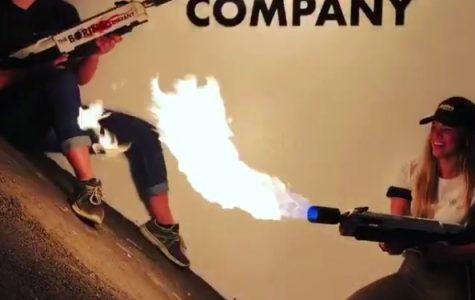 Elon Musk's Flamethrower Sale