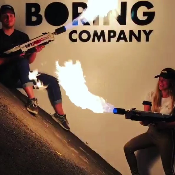 Elon Musk's Flamethrower Sale