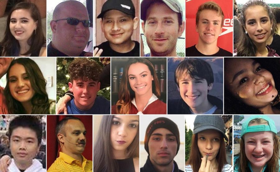 Parkland School Shooting Victims