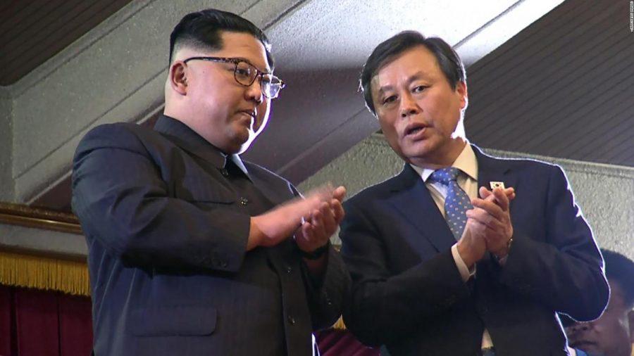 Kim Jong Un goes to K-Pop Concert in Pyongyang