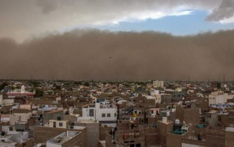 Dust Storms in India