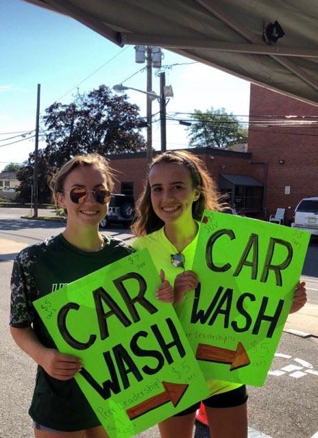Peer Leadership Car Wash is a Success