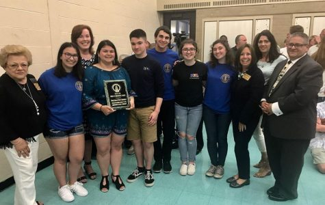 Interact Club and the advisors accepting