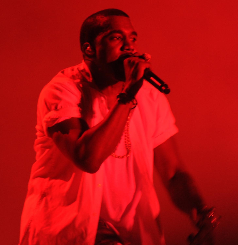 Famous rapper, Kanye West