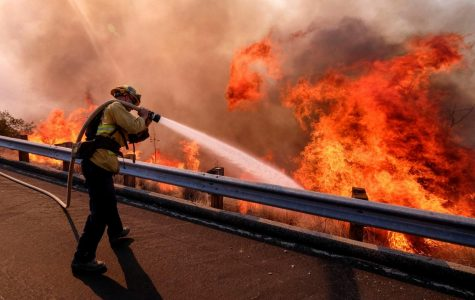 California Engulfed in Flames