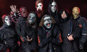 Slipknot in their new masks.