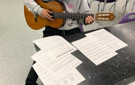 New  Guitar Course Gains Student Interest