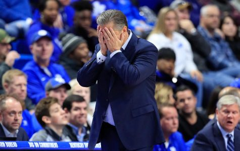 Coach Calipari in disbelief