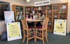 Lindenhurst High School Library Writing Center.