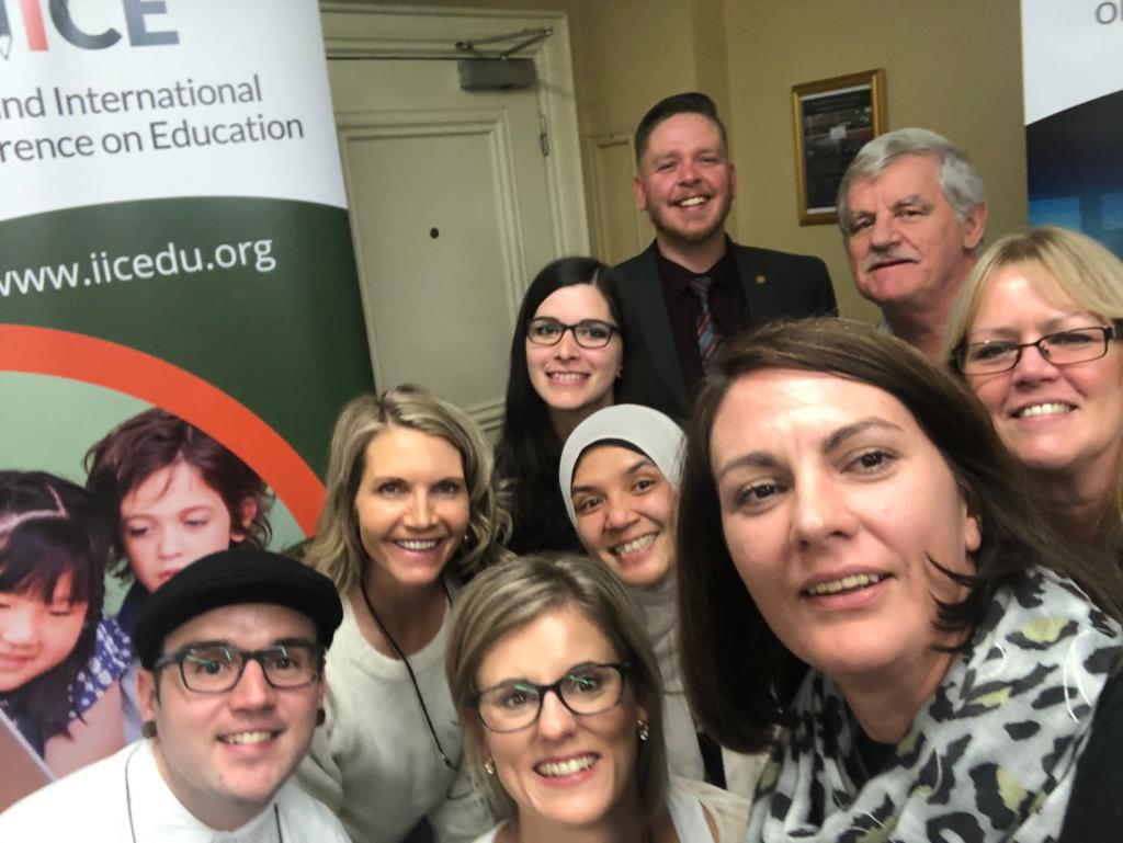 Teachers and Administrators at the Ireland International Conference on Education