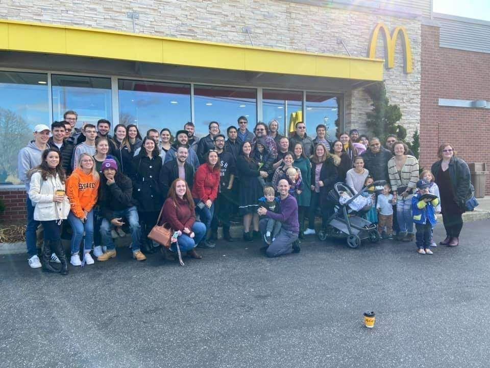 Thanksgiving Breakfast Crowd 2019