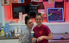 Jackie Taylor and Nicki Sottile at Ralph's Italian Ices
