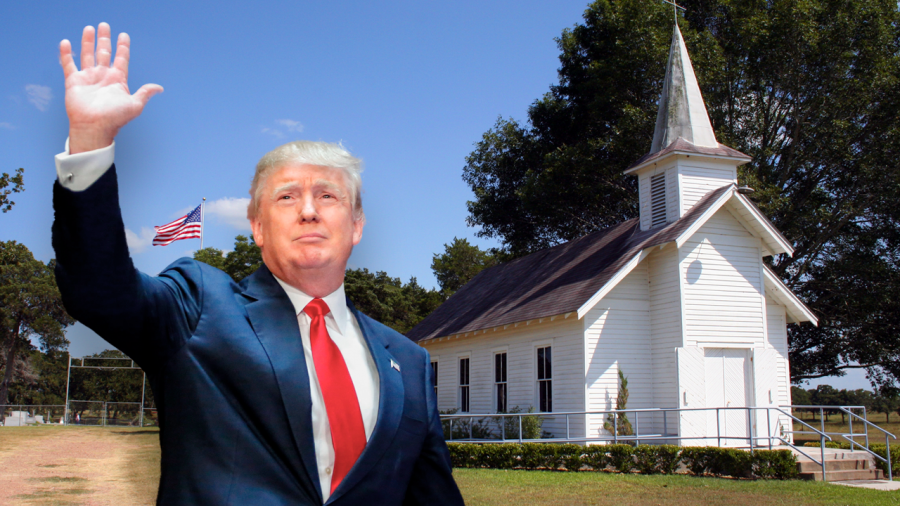 Trump Says Churches Are