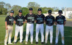 The Seniors of the 2021 Lindenhurst Varsity Baseball Team