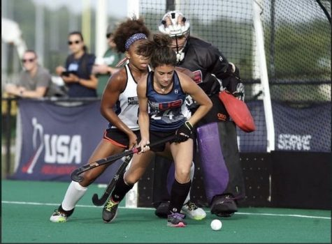 Lindy Field Hockey Star Rising To The Top